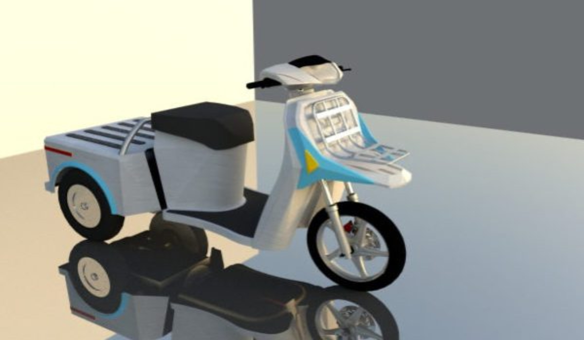 Έτοιμο για μαζική παραγωγή το ελληνικό ηλεκτροκίνητο τρίκυκλο Anemos