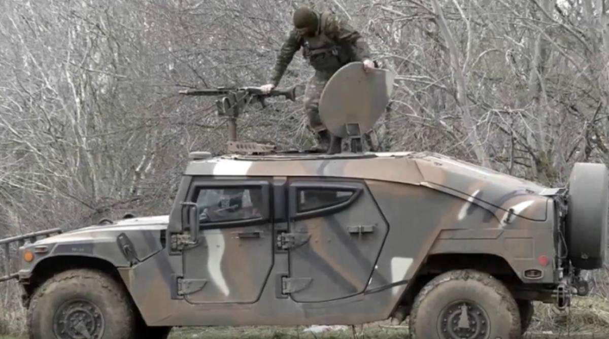 Τα τζιπ Hummer του Ελληνικού στρατού που κατασκεύασε η ΕΛΒΟ.