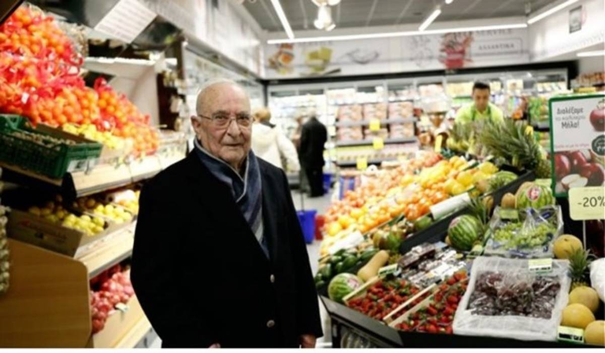 Πέθανε ο Ανδρέας Κρητικός, ιδρυτής της αλυσίδας super market.